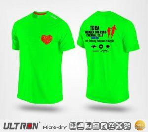 T-shirt - TDRA Merdeka Fun Run/Walk 2018